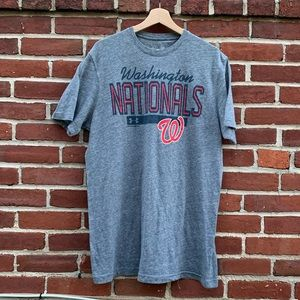 Mens Under Armour Washington Nationals Sports Tee